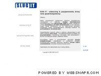 SLUG IT - pozycjonowanie, outsourcing it