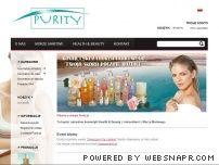 Purity.pl - naturalne kosmetyki z Morza Martwego