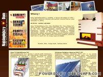 Najcieplejszydom - kominki, okna, pompy ciepła, systemy solarne