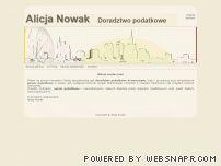 Alicja Nowak - Doradztwo podatkowe w Warszawie