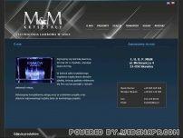 M&M - grawerowanie laserem