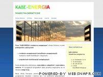 KABE-ENERGIA Świadectwa energetyczne / Certyfikaty energetyczne Kraków