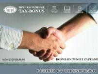 TAX-BONUS Biuro rachunkowe Katowice,Dąbrowa Górnicza,Sosnowiec