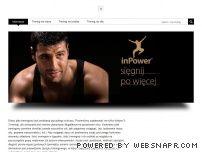 Inpower - Trening i odżywki na masę, na rzeźbę, na siłę