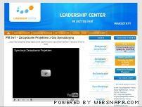 Leadership Center - Zarządzanie projektami IT